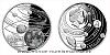 Stříbrná mince Sluneční soustava - Měsíc