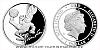 Stříbrná mince Čtyřlístek - Pinďa
