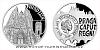 Stříbrná mince Vznik královského hlavního města Praha - Hradčany