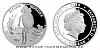 Stříbrná mince Slečna Beruška