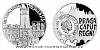 Stříbrná mince Vznik královského hlavního města Praha - Staré Město pražské