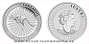 Stříbrná uncová mince Australian Kangaroo 2019 - 25 kusů (original balení v tubě)