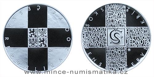 200 Kč - 100. výročí Založení Československého červeného kříže
