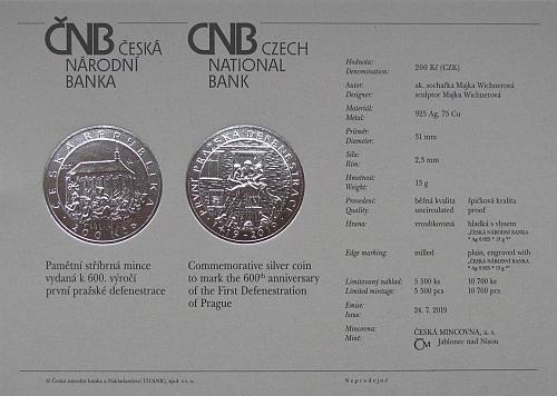 2019_200_Kc_Prvni_prazska_defenestrace_Ag_certifikat