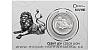 Stříbrná uncová investiční mince Český lev 2019 číslovaný obal