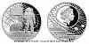 Stříbrná mince První lidé na Měsíci
