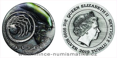 2019 - 2 TVD Alien™ (Vetřelec) - 40.výročí (1979-2019) Antique Colored