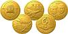 Sada čtyř zlatých mincí Českoslovenští letci RAF - 68. noční stíhací peruť