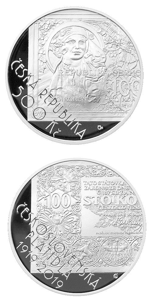 2019_500_Kc_Ceskoslovenske_platidla_Ag_mince_proof