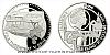 Platinová uncová mince UNESCO - Brno - vila Tugendhat