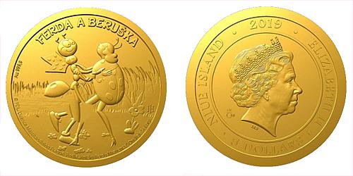 Zlatá mince Ferda a Beruška