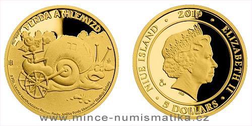 Zlatá mince Ferda a Hlemýžď