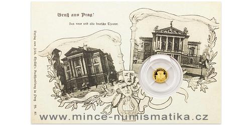 Zlatá mince Praha - Stavovské divadlo