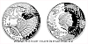 Stříbrná mince Vynálezy Leonarda da Vinci - Kulomet
