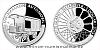 Stříbrná mince Na kolech - Nákladní automobil Tatra Kopřivnice