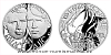 Stříbrná medaile Národní hrdinové - Jan Palach a Jan Zajíc