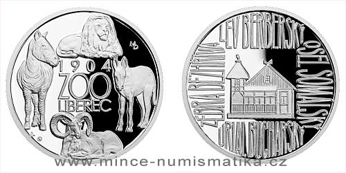 Stříbrná medaile Příběhy naší historie - Liberecká ZOO