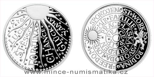 Stříbrná medaile Štěstí
