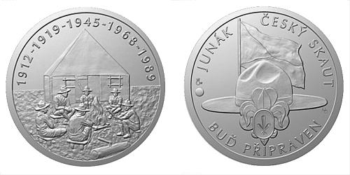 Stříbrná medaile Příběhy naší historie - Svaz junáků - skautů RČS