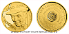 Zlatá půluncová číslovaná medaile Karel Gott - Fenomén