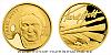 Zlatá půluncová číslovaná medaile Karel Gott - Malíř