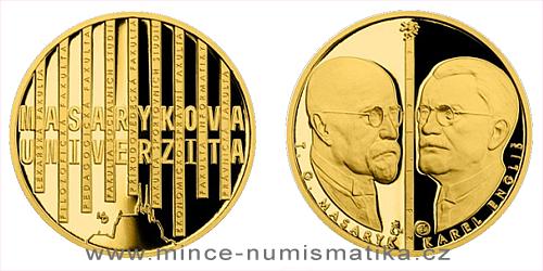 Zlatá čtvrtuncová medaile Příběhy naší historie - Masarykova univerzita Brno