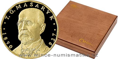Sada oběžných mincí 2019 - 20 Kč Rok měny - dřevěná etue