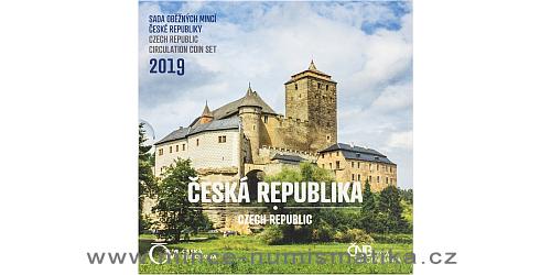 Sada oběžných mincí ČR 2019 - Česká republika