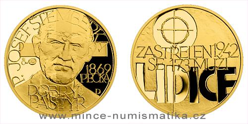 Zlatý dukát Národní hrdinové - Josef Štemberka