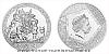 Stříbrná mince Bohové světa - Ódin