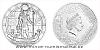 Stříbrná mince Bohové světa - Re