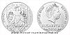 Stříbrná pětiuncová investiční mince Český lev 2020