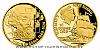 Zlatá čtvrtuncová mince Na vlnách - Vasco da Gama