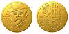 Zlatá mince Rok 1920 - T. G. Masaryk