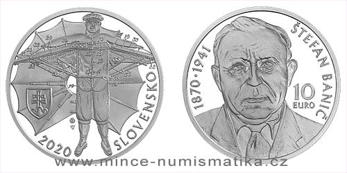 10 € - 150. výročie narodenia - Štefan Banič