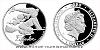 Stříbrná mince Čtyřlístek - Fifinka