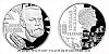Stříbrná mince Géniové 19. stol. - Alfred Nobel