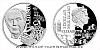 Stříbrná mince Géniové 19. stol. - T. A. Edison