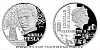 Stříbrná mince Géniové 19. stol. - Nikola Tesla