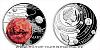Stříbrná mince Sluneční soustava - Mars