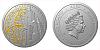 Stříbrná mince Staroměstský orloj