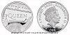 2020 - 1 £ - Stříbrná mince 1/2 Oz Queen