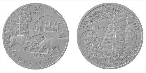 20 € - Chránená krajinná oblasť Poľana
