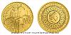 Zlatá investiční mince Staroměstský orloj