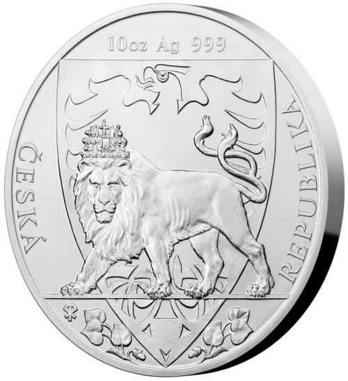 2020_25_NZD_Ag_Cesky_lev_10_Oz_standard_mince