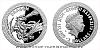 Stříbrná mince Bájní tvorové - Drak