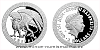 Stříbrná mince Bájní tvorové - Gryf