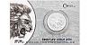 Stříbrná uncová investiční mince Český lev 2020 číslovaný obal