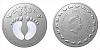 Stříbrná mince Crystal Coin - K narození dítěte 2020