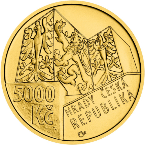 2020_5000_Kc_Hrad_Buchlov_Au_mince_bk_avers